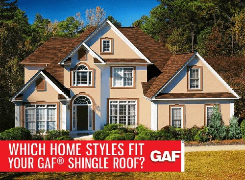 Home Styles Fit Your GAF® Shingle Roof?